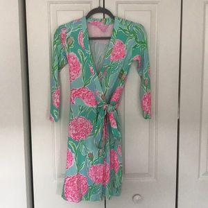 COPY - Lilly Pulitzer wrap dress